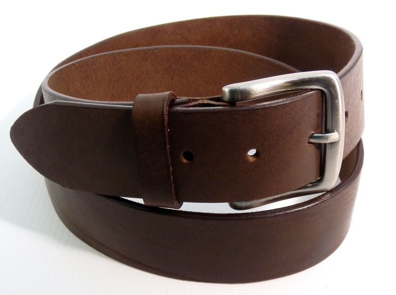 nuova collezione 31f84 80f08 Cintura in Cuoio semplice - Marrone - mm 40 Ingrosso cinture ...